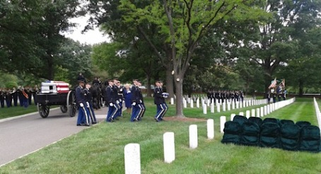 Arlington National Cemetery; Funeral services for Lt. Col. David Kryzanowsky