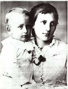 Countess with eldest son, Constant Julian