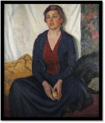 Portrait of Sari Kryzanowsky.