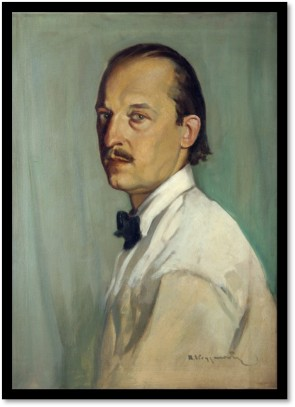 Self Portrait of Roman Kryzanowsky